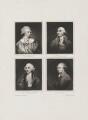 John Baker Holroyd, Earl of Sheffield; Sir William Forbes; Henry Dundas, Viscount Melville; Charles Bingham, Earl of Lucan, by Samuel William Reynolds, after  Sir Joshua Reynolds - NPG D15390