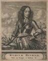 King William III when Prince of Orange, by Christian Hagen, after  Unknown artist - NPG D18421