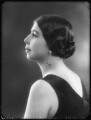 Madame Olga Alexeeva, by Bassano Ltd - NPG x123234