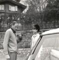 Melchior Gaston ('Mel') Ferrer; Audrey Hepburn, by Cecil Beaton - NPG x40183