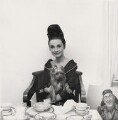Audrey Hepburn with her dog Assam of Assam, by Cecil Beaton - NPG x40176