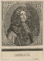 King Charles II, by Johann Ulrich Kraus, after  Unknown artist - NPG D18468