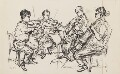 Amadeus Quartet (Norbert Brainin; Siegmund Nissel; Peter Schidlof; Martin Lovett), by Milein Cosman - NPG 6658