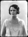 Gertrude Elliott, by Bassano Ltd - NPG x123361