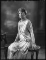 Beatrice Marion (née Hall), Viscountess Finlay, by Bassano Ltd - NPG x123387
