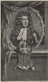 King Charles II, by Pierre Drevet, after  Adriaen van der Werff - NPG D18500