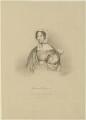 Henrietta ('Harriet') Leslie Courtenay (née Pepys), Countess of Devon, by Edward Morton, printed by  M & N Hanhart, after  T. Sampson - NPG D15654