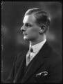 Christopher John Henry Roper-Curzon, 19th Baron Teynham, by Bassano Ltd - NPG x123442