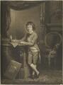 Samuel Wesley, by William Dickinson, published by  J. Walker, after  John Russell - NPG D15676