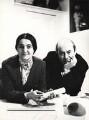 Alison Smithson; Peter Smithson, by Godfrey Argent - NPG x165612