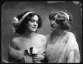 Violet Lillian Warren (née Harrison-Brown); Yvonne Fitzroy, by Bassano Ltd - NPG x101666