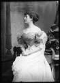 Priscilla Cecilia (née Moore), Countess Annesley, by Alexander Bassano - NPG x7114