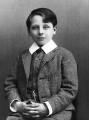 Francis Annesley, 6th Earl Annesley, by Alexander Bassano - NPG x8309
