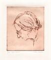 Imogen Clare Holst, by Milein Cosman - NPG D18547