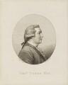 Thomas Tyers, by John Hall, after  John Taylor - NPG D15790