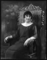 Anna Adelaide Caroline Shore (née Marsh), Lady Teignmouth, by Bassano Ltd - NPG x123585