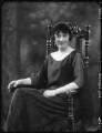 Anna Adelaide Caroline Shore (née Marsh), Lady Teignmouth, by Bassano Ltd - NPG x123586