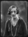 Lavinia Emily White (née Spencer), Lady Annaly, by Bassano Ltd - NPG x123599