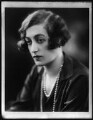 Lavinia Emily White (née Spencer), Lady Annaly, copy by Bassano Ltd - NPG x123600