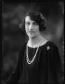 Hon. Sophia Zoe Isabelle Butler-Henderson (née Massey), by Bassano Ltd - NPG x123615
