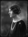 Hon. Sophia Zoe Isabelle Butler-Henderson (née Massey), by Bassano Ltd - NPG x123616