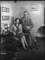 Sheila Claude Wingfield (née Beddington), Viscountess Powerscourt; Mervyn Patrick Wingfield, 9th Viscount Powerscourt, by Bassano Ltd - NPG x123622