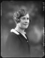 Olwen Verena (née Ponsonby), Lady Oranmore and Browne, by Bassano Ltd - NPG x123653