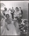 Jackie Kennedy Onassis; Princess Lee Radziwill (née Bouvier), by Cecil Beaton - NPG x40312