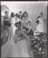 Jackie Kennedy Onassis; Princess Lee Radziwill (née Bouvier), by Cecil Beaton - NPG x40309