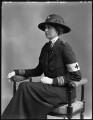 Lady Nina Geraldine Knowles (née Ogilvie-Grant), by Bassano Ltd - NPG x32872