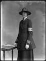 Lady Nina Geraldine Knowles (née Ogilvie-Grant), by Bassano Ltd - NPG x32873