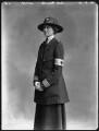 Lady Nina Geraldine Knowles (née Ogilvie-Grant), by Bassano Ltd - NPG x32874