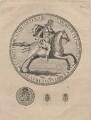 King Charles II, by James Basire, after  Thomas Simon - NPG D18543