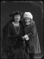 Alice Hester Camilla (née Cotton), Lady Chetwode; Penelope (née Chetwode), Lady Betjeman, by Bassano Ltd - NPG x81397