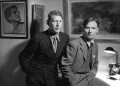 W.H. Auden; Christopher Isherwood, by Howard Coster - NPG x540