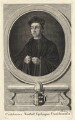 Cuthbert Tunstall ('Cuthbertus Tonstall Episcopus Dunelmensis'), by Paul Fourdrinier - NPG D18554