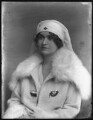 Alice Fereers Townshend (née d'Anvers), Lady Townshend, by Bassano Ltd - NPG x81095