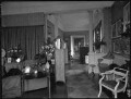 'View of Lady Illingworth's drawing room with study and library in the distance', by Bassano Ltd - NPG x80975