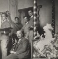 Rex Whistler; Gerald Tyrwhitt-Wilson, 14th Baron Berners; Oliver Messel; Cecil Beaton, by Cecil Beaton - NPG x40681