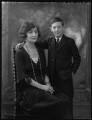 Anne Claudia Whalley Kennard (née Foot); Claud Kenneth Melville Dundas, by Bassano Ltd - NPG x37077