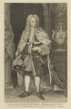 Edward Harley, 2nd Earl of Oxford, by George Vertue, after  Michael Dahl - NPG D15991