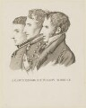 John Hely-Hutchinson, 3rd Earl of Donoughmore; Sir Robert Thomas Wilson; Michael Bruce, by Unknown artist - NPG D16018