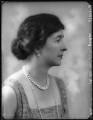 Julia Henrietta (née Harrison-Broadley), Lady Jackson, by Bassano Ltd - NPG x123712