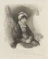 Sophia Charlotte of Mecklenburg-Strelitz, by Henry D. Thielcke, published by  Colnaghi & Co, after  Henry Edridge - NPG D16057