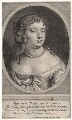 Anne Hyde, Duchess of York, by Pierre Lombart, after  Sir Peter Lely - NPG D18595