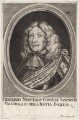 Edward Montagu, 1st Earl of Sandwich, by Moritz Lang, after  Unknown artist - NPG D18634