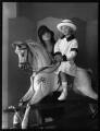 Minoru Foley (née Greenstone), Lady Foley; Adrian Gerald Foley, 8th Baron Foley, by Bassano Ltd - NPG x123939