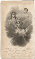 Apotheosis of the Princes Octavius & Alfred, and of the Princess Amelia (Prince Octavius; Princess Amelia; Prince Alfred), by Robert Hicks, after  William Marshall Craig - NPG D16187