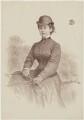 Lady Florence Caroline Dixie (née Douglas), by Andrew Maclure - NPG D16189