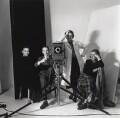 Vogue studio assistants (Roy Walwood; Gordon Bishop; Jane Felstead; Yvonne Rabbets), by Gordon Bishop - NPG x126324
